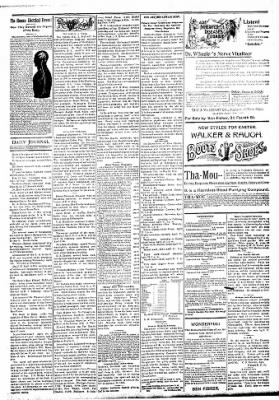 Logansport Pharos-Tribune from Logansport, Indiana on April 4, 1894 · Page 3
