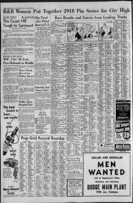 Detroit Free Press from Detroit, Michigan on October 28, 1952 · Page 18