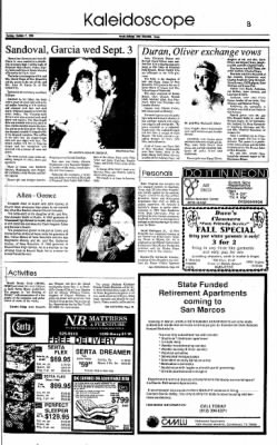 New Braunfels Herald Zeitung From New Braunfels, Texas On October 7, 1990 ·  Page 13