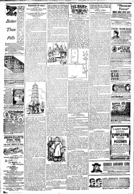 Logansport Pharos-Tribune from Logansport, Indiana on April 5, 1894 · Page 6