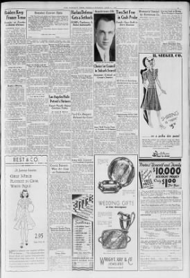 Detroit Free Press from Detroit, Michigan on June 7, 1938 · Page 3