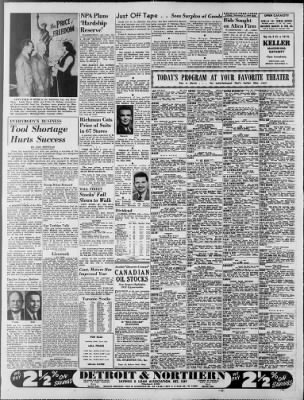 Detroit Free Press from Detroit, Michigan on February 1, 1952 · Page 23