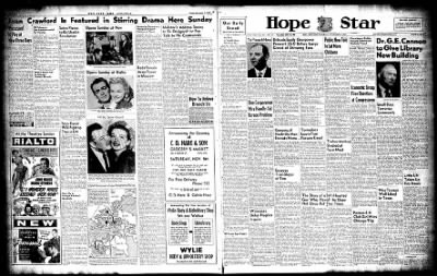 Hope Star from Hope, Arkansas on November 8, 1947 · Page 1