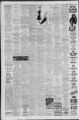 on sale 5d700 e77b7 Detroit Free Press from Detroit, Michigan on April 17, 1953