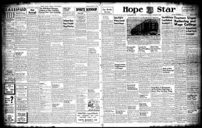 Hope Star from Hope, Arkansas on November 15, 1947 · Page 12