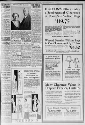 home decorators rugs clearance.htm detroit free press from detroit  michigan on january 15  1930    page 7  detroit  michigan on january 15