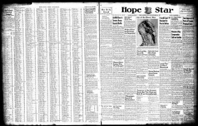 Hope Star from Hope, Arkansas on November 26, 1947 · Page 1