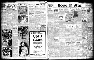 Hope Star from Hope, Arkansas on November 29, 1947 · Page 3