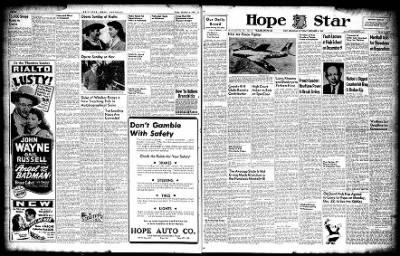 Hope Star from Hope, Arkansas on December 6, 1947 · Page 3