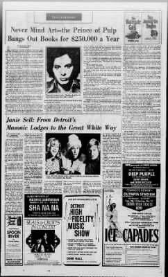 Detroit Free Press from Detroit, Michigan on February 17, 1974 · Page 33
