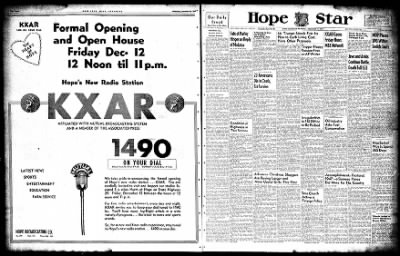 Hope Star from Hope, Arkansas on December 10, 1947 · Page 44