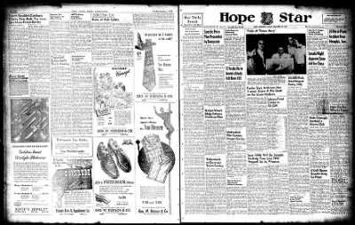 Hope Star from Hope, Arkansas on December 12, 1947 · Page 1