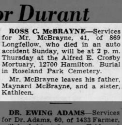 Ross C. McBrayne