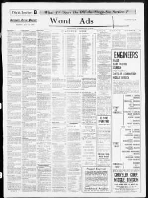 Detroit Free Press from Detroit, Michigan on July 19, 1959 · Page 10