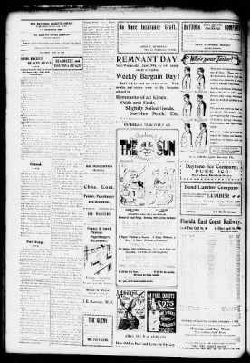 The Daytona Gazette News From Beach Florida On June 16 1906 Page 2