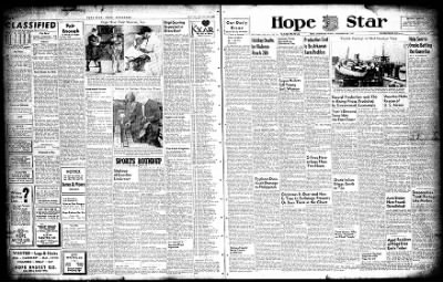 Hope Star from Hope, Arkansas on December 26, 1947 · Page 1