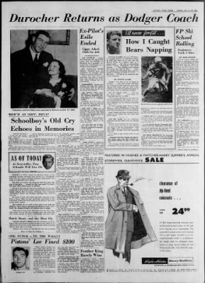 Detroit Free Press from Detroit, Michigan on January 10, 1961 · Page 19