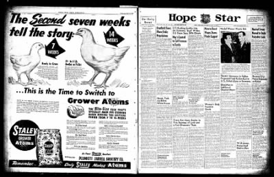 Hope Star from Hope, Arkansas on May 15, 1947 · Page 1