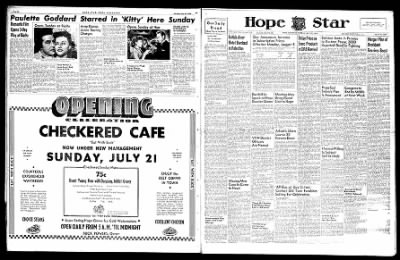 Hope Star from Hope, Arkansas on July 20, 1946 · Page 6