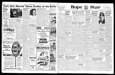 Hope Star from Hope, Arkansas on July 27, 1946 · Page 1