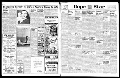 Hope Star from Hope, Arkansas on August 2, 1946 · Page 6