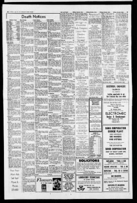 Detroit Free Press from Detroit, Michigan on August 23, 1968 · Page 28
