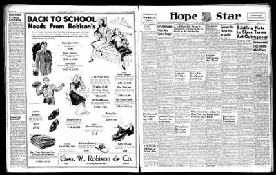 Hope Star from Hope, Arkansas on August 19, 1946 · Page 6
