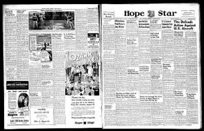Hope Star from Hope, Arkansas on August 21, 1946 · Page 1