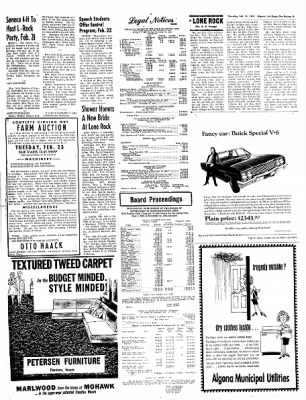 The Algona Upper Des Moines from Algona, Iowa on February 18, 1965 · Page 9