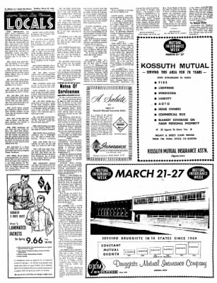 The Algona Upper Des Moines from Algona, Iowa on March 23, 1965 · Page 8