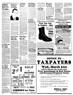 The Algona Upper Des Moines from Algona, Iowa on March 25, 1965 · Page 12