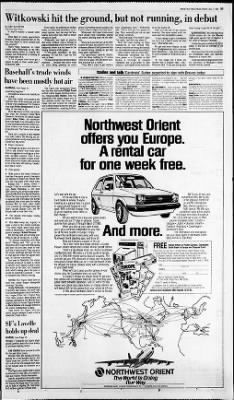 Detroit Free Press from Detroit, Michigan on December 6, 1984 · Page 63
