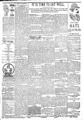 Logansport Pharos-Tribune from Logansport, Indiana on April 28, 1894 · Page 3