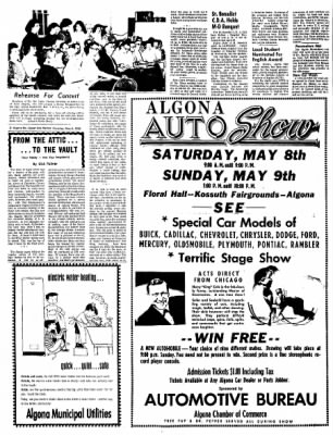 The Algona Upper Des Moines from Algona, Iowa on May 6, 1965 · Page 12