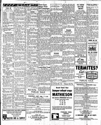 The Tipton Daily Tribune from Tipton, Indiana on September 14, 1954 · Page 5