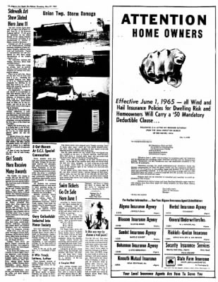 The Algona Upper Des Moines from Algona, Iowa on May 27, 1965 · Page 11