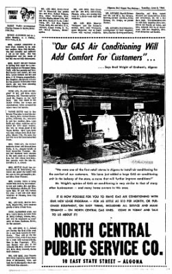 The Algona Upper Des Moines from Algona, Iowa on June 8, 1965 · Page 7