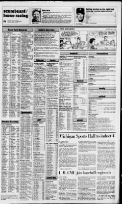 Detroit Free Press from Detroit, Michigan on May 19, 1987