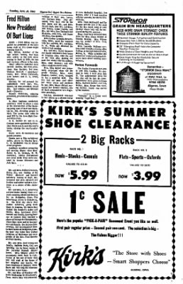 The Algona Upper Des Moines from Algona, Iowa on June 29, 1965 · Page 11
