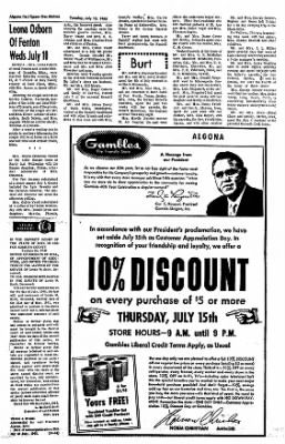 The Algona Upper Des Moines from Algona, Iowa on July 13, 1965 · Page 5