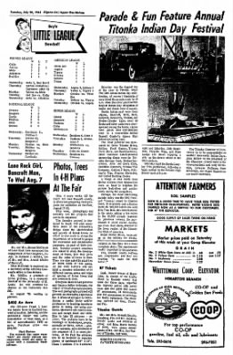 The Algona Upper Des Moines from Algona, Iowa on July 20, 1965 · Page 4