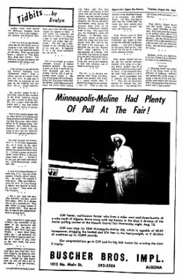 The Algona Upper Des Moines from Algona, Iowa on August 24, 1965 · Page 6