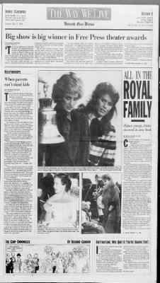 Detroit Free Press from Detroit, Michigan on May 17, 1988 · Page 15