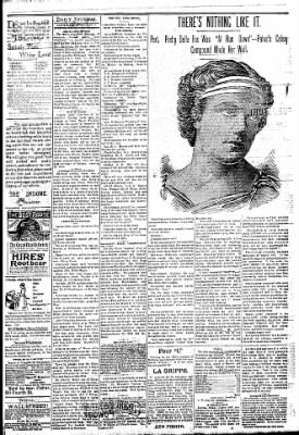Logansport Pharos-Tribune from Logansport, Indiana on May 5, 1894 · Page 3
