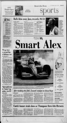 Detroit Free Press from Detroit, Michigan on June 8, 1998 · Page 26