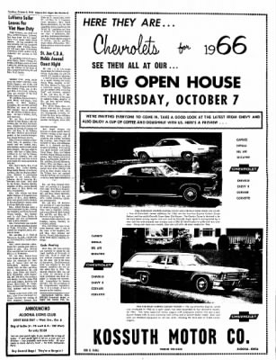 The Algona Upper Des Moines from Algona, Iowa on October 5, 1965 · Page 3