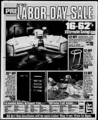Detroit Free Press From Detroit Michigan On September 6 1987