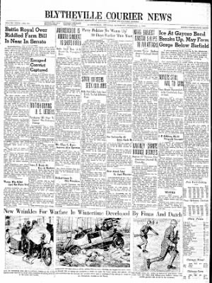 The Courier News from Blytheville, Arkansas on February 3, 1940 · Page 1
