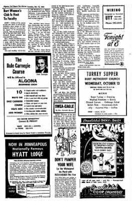The Algona Upper Des Moines from Algona, Iowa on October 12, 1965 · Page 10