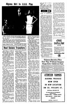 The Algona Upper Des Moines from Algona, Iowa on October 26, 1965 · Page 12